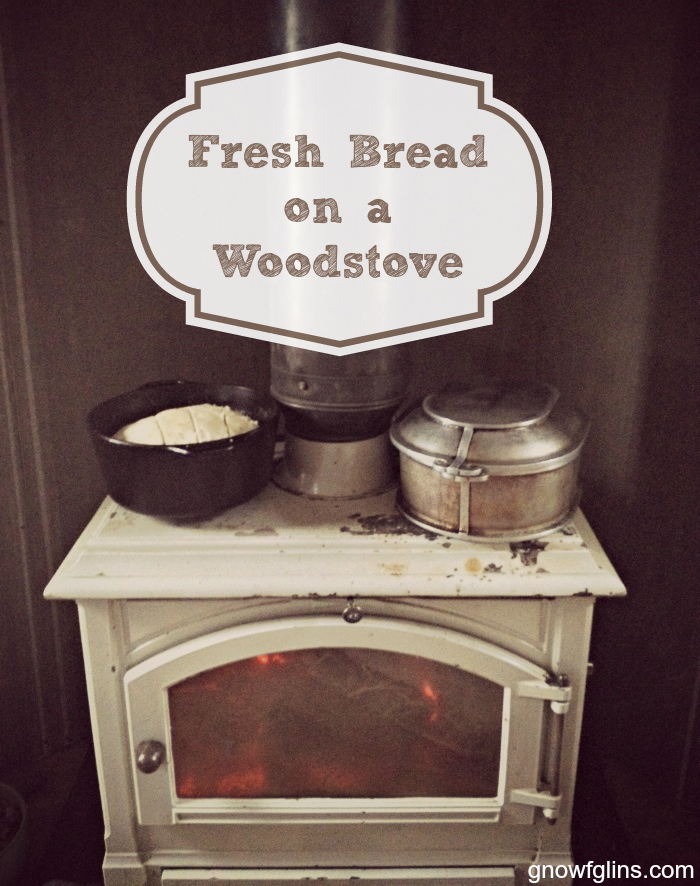 Fresh Bread on a Wood Stove