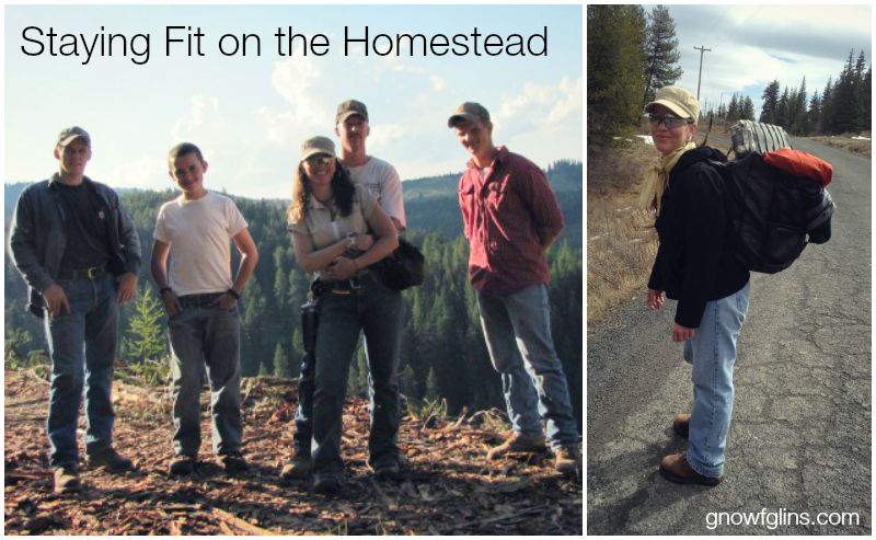Staying Fit On The Homestead
