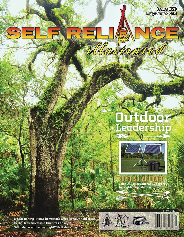 Self Reliance Illustrated Issue #20 includes 3 of my articles