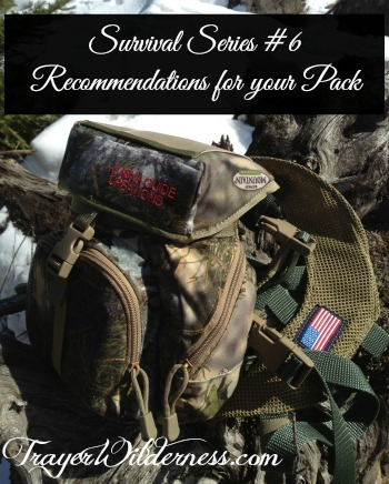 MWJ – Survival Series #6 Recommendations for your pack