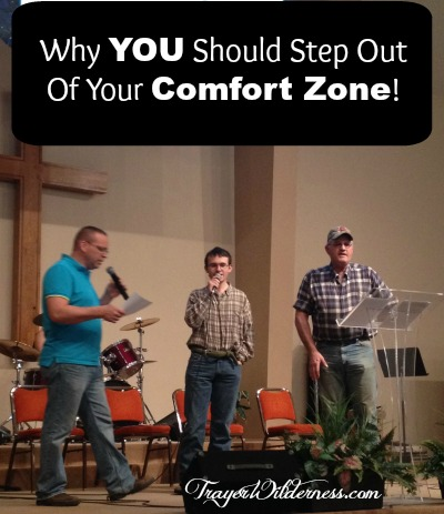 Why YOU Should Step Out Of Your Comfort Zone!