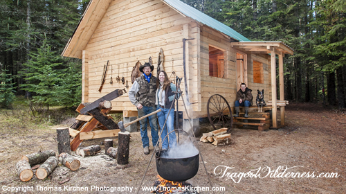 Trayer Wilderness Off-Grid Homestead Tour With Beyond Off Grid