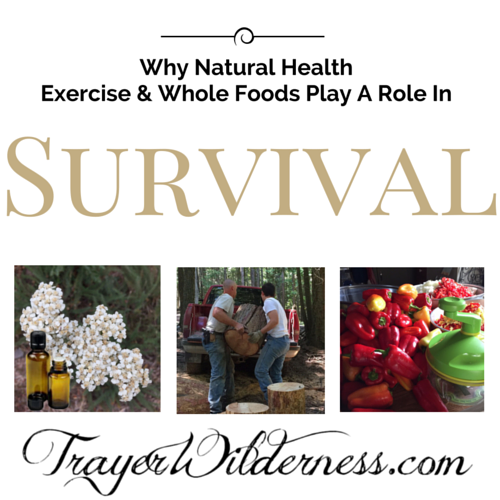 Why Natural Health, Exercise & Whole Foods Play A Role In Survival