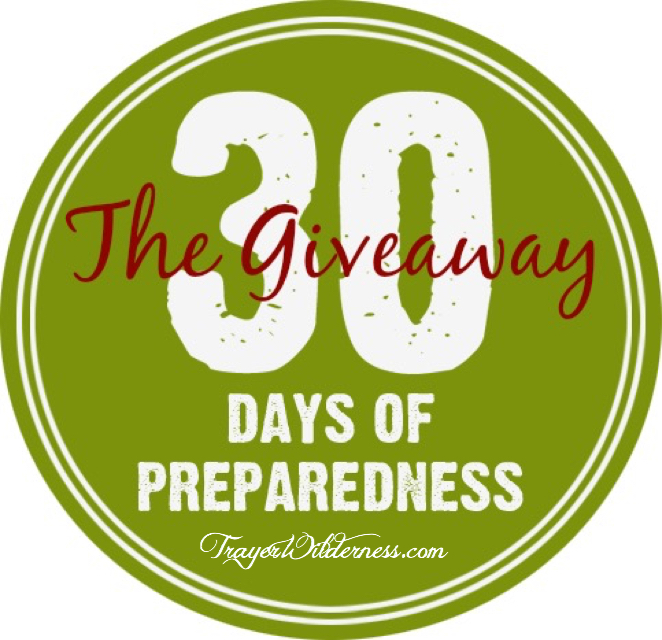 30 Days of Preparedness Giveaway