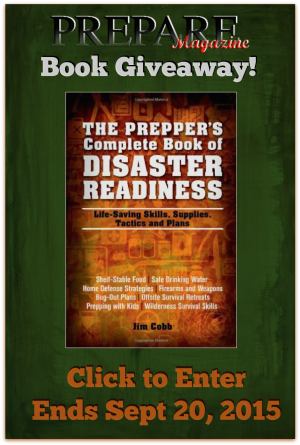 The Prepper's Complete Book of Disaster Readiness by Jim Cobb (Review/Giveaway)