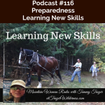 Mountain Woman Radio Podcast 116 Learning New Skills