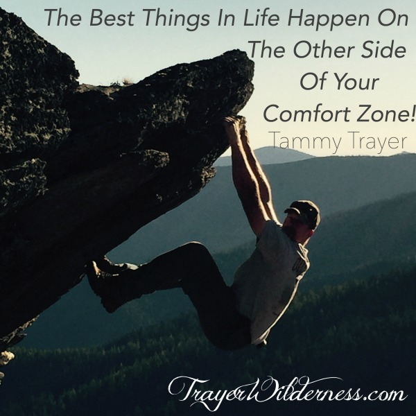 The Best Things In Life Happen On The Other Side Of Your Comfort Zone