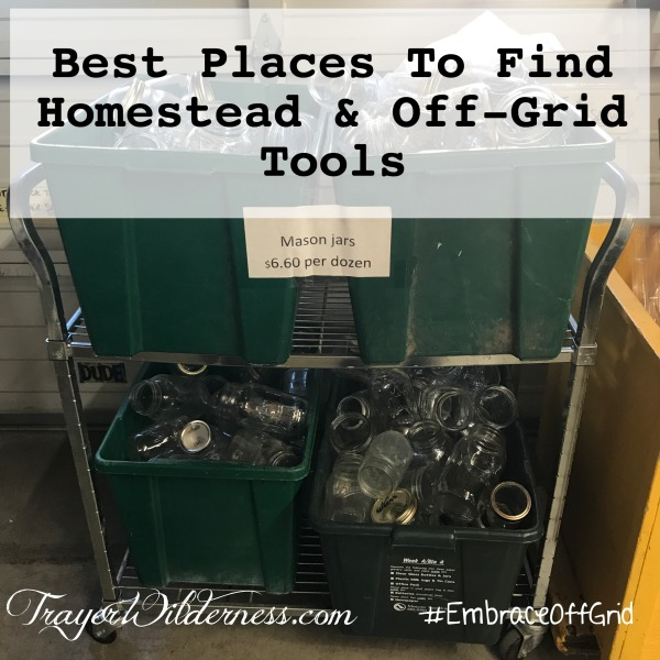 Best Places To Find Homestead & Off-Grid Tools