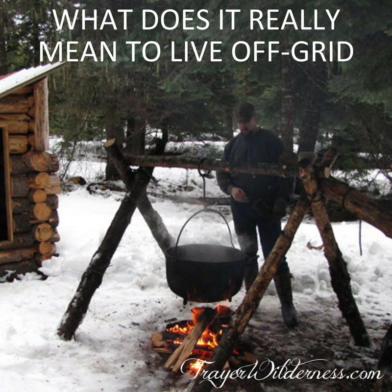 What Does It Really Mean To Live Off-Grid